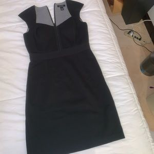 Black dress white house black market size 10